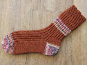 Bruine wollen sokken 39-40
