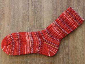 Vrolijke rode sokken