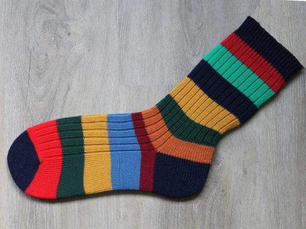 Sokken maat 47-48 in herfstkleuren